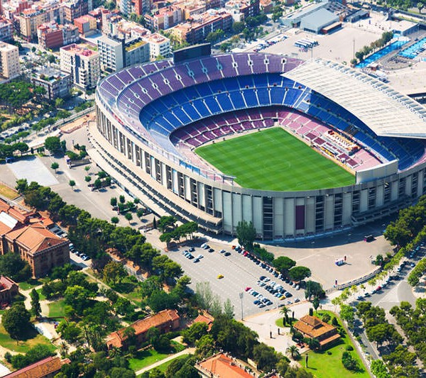 Größte Stadion von Barcelona
