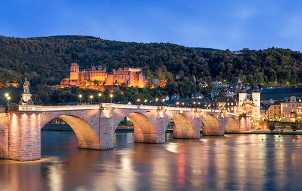 Panorama-Ansicht von Heidelberg
