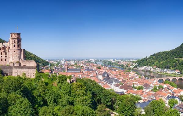 Heidelberg im Sommer